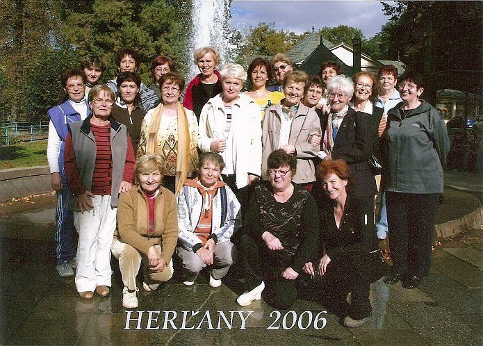 Ženský sbor, soustředění 2006