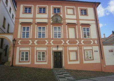 Dům, ve kterém bydlel Jiří Mucha