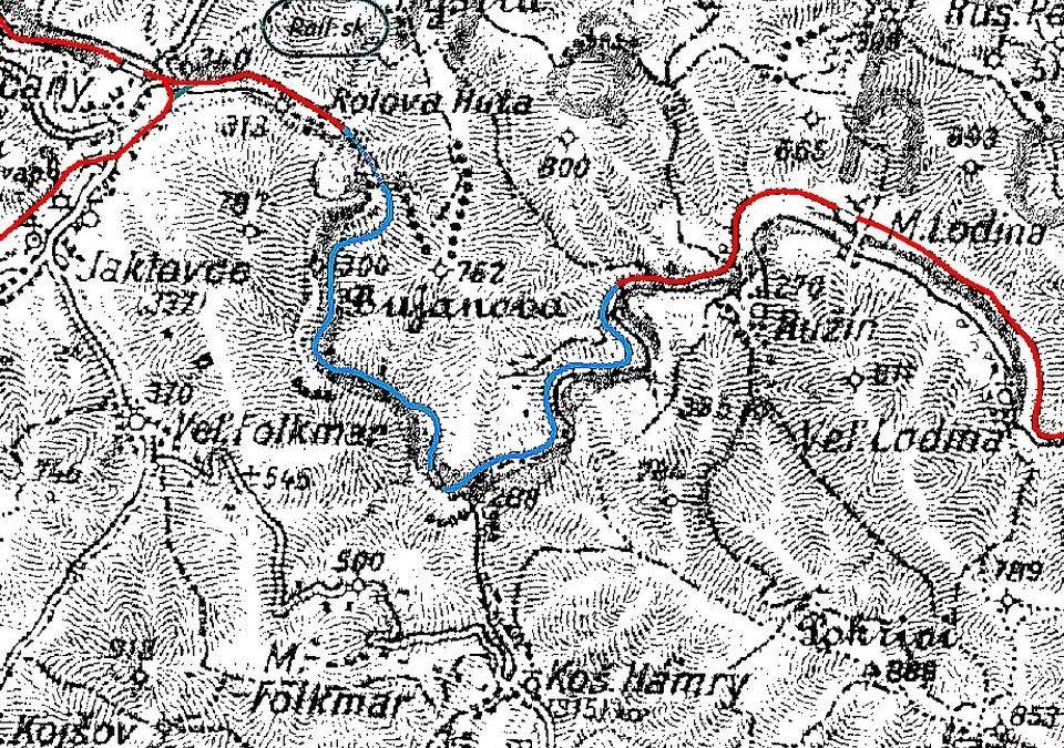 Výlet na místa zatopená Ružínskou přehradou