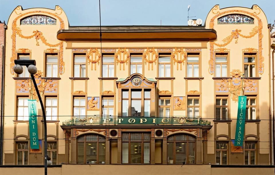 Topičův salon na Národní třídě v Praze