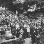 Slavnostní otevření Dobšinské ledové jeskyně, 1871