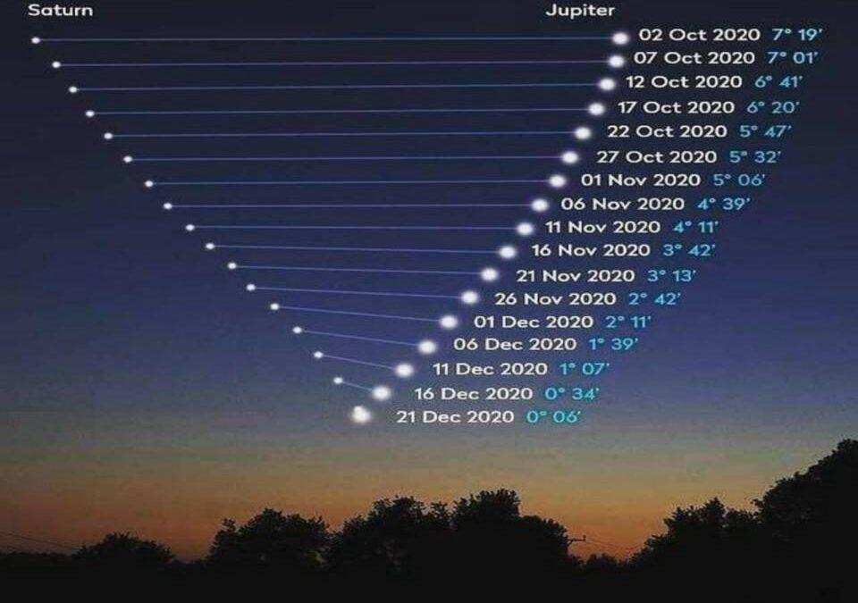 Betlémská hvězda oznamuje příchod Ježíše