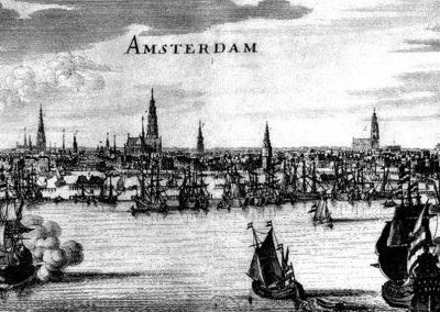 Amsterdam v době Jana Amose