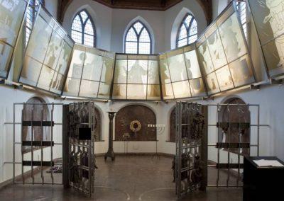 Kaple v Naardenu, kde jsou uloženy ostatky Jana Amose Komenského