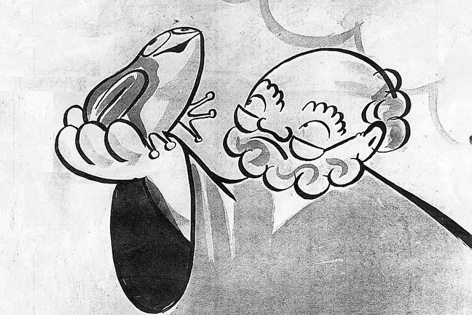 Svatý Petr předpovídal počasí i v Československé televizi
