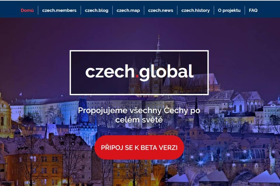 Czech.global vás propojí s krajany na celé planetě