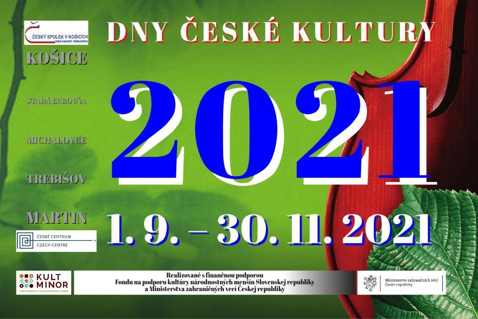 Dny české kultury 2021